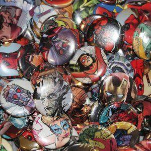 15 Random Marvel Comics Pins
